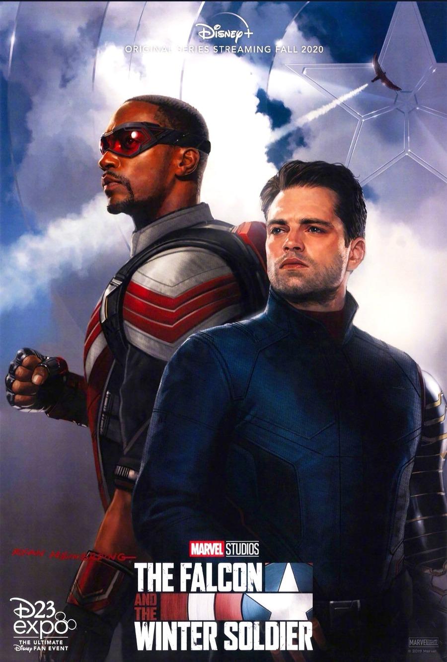 Anthony Mackie e Sebastian Stan nel teaser poster di The ...