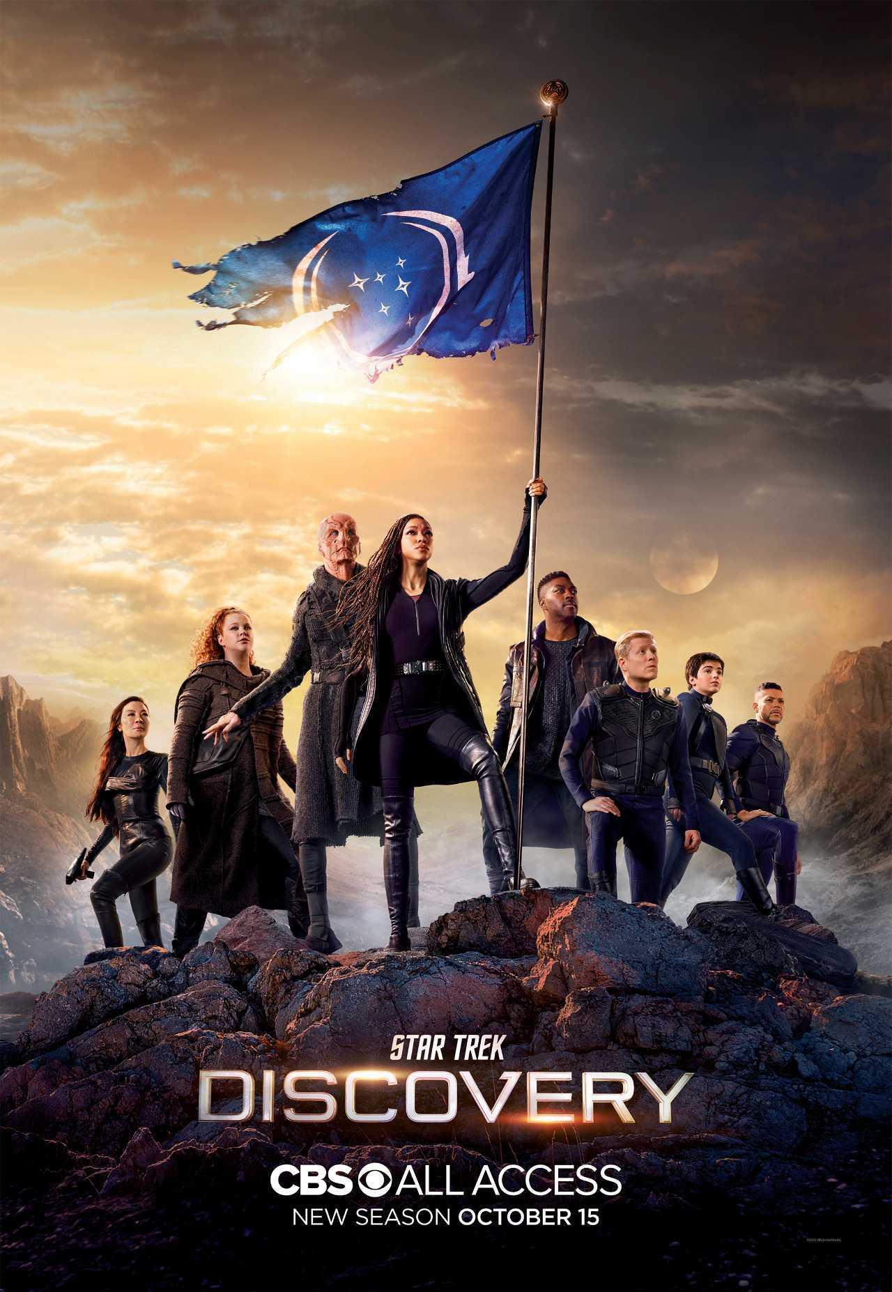 Star Trek: Discovery: rivelati trailer, poster e logo della terza stagione
